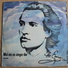Mihai Eminescu - Mai am un singur dor (romante) (dublu LP) - Muzica soundtrack electrecord, VINIL