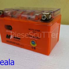 Baterie - Acumulator Moto - Scuter 12v ( volti ) 7A ( amperi ) 12 v 7 A ( GEL )