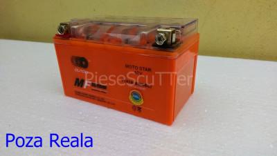 Baterie - Acumulator Moto - Scuter 12v ( volti ) 7A ( amperi ) 12 v 7 A ( GEL ) foto