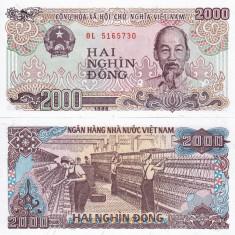 VIETNAM 2.000 dong 1988 UNC!!!