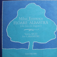 MIHAI EMINESCU - Floare albastra - Muzica soundtrack electrecord, VINIL