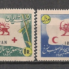 Iran.1955 Crucea Rosie SI.23 - Timbre straine