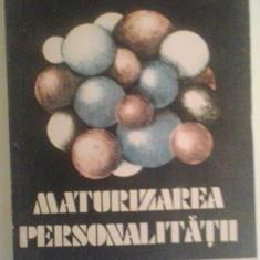 TIBERIU RUDICA - MATURIZAREA PERSONALITATII - Roman, Anul publicarii: 1990