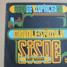 George Topirceanu - Minunile Sfintului SISOE - Muzica soundtrack electrecord, VINIL