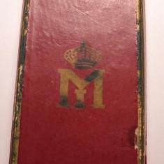 Cutie Decoratie Regele Mihai