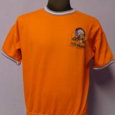 Tricou orange Levi Strauss 100% original - Tricou barbati Levis, Marime: M, Maneca scurta, Bumbac