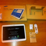 "Tableta Samsung Tab 3 10.1"" 3G/LTE/WIFI 1, 6GHz Dual Core Full HD playback & HD recording. Model GT-P5200 - Tableta Samsung Galaxy Tab 3 10.1 inci, 16 GB, Wi-Fi + 4G"