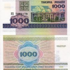 BELARUS 1.000 ruble 1998 UNC!!! - bancnota europa