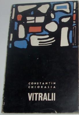 CONSTANTIN CHIORALIA-VITRALII (VERSURI vol. debut 1967/coperta VIOREL MARGINEAN) foto