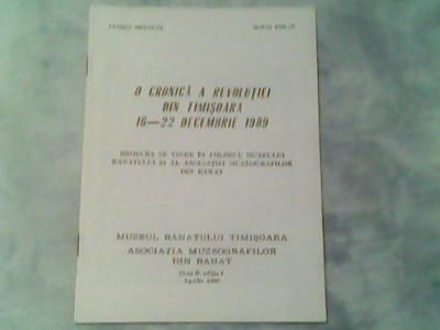 O cronica a revolutiei din Timisoara 16-22 Decembrie 1989-Florian Medelet,Mihai Ziman foto
