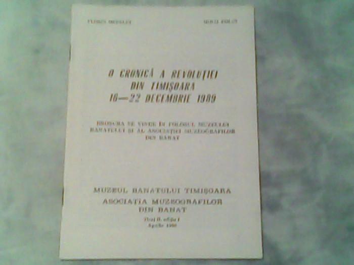 O cronica a revolutiei din Timisoara 16-22 Decembrie 1989-Florian Medelet,Mihai Ziman