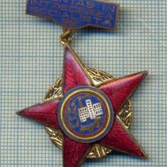 1863 INSIGNA  - FRUNTAS IN INTRECEREA SOCIALISTA - 1965 -starea care se vede