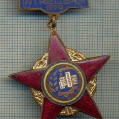 1865 INSIGNA  - FRUNTAS IN INTRECEREA SOCIALISTA - 1972 -starea care se vede