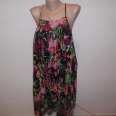 Top/rochita Pieces - Top dama, Marime: L, Multicolor, Universala, Fara maneca, Bumbac