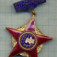1861 INSIGNA  - FRUNTAS IN INTRECEREA SOCIALISTA - 1963 -starea care se vede