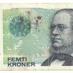 NORVEGIA 50 COROANE KOROANE KRONER 1999 [1] starea din imagine - bancnota europa