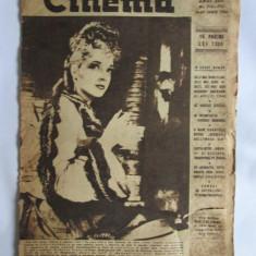 REVISTA CINEMA 16-30 IUNIE 1946 - Revista culturale