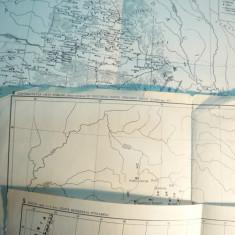 *4 Harti-Istorie Antica - Dacia sec.I - VI e.n. - Ed. cca. 1970