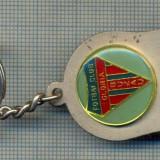 ATAM2001- Breloc 189, pentru colectionari - TEMATICA FOTBAL - FOTBAL CLUB GLORIA BUZAU  -starea care se vede