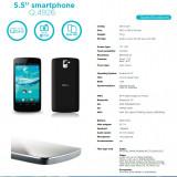 telefon Smartphone Qilive Q4926 5.5 dual core,cel mai bun pret,procesor 1.2g Quad core,ram 1g,camera 8 mp