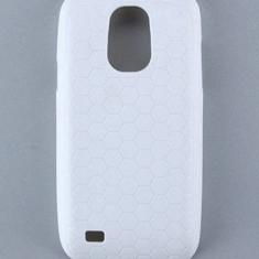 Husa silicon pentru samsung galaxy s4 mini i9190 dotat cu acumulator extins + folie protectie ecran + expediere gratuita - Husa Telefon Samsung, Alb