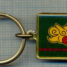 ATAM2001- Breloc 203, pentru colectionari - BARCELONA DRAGONS CLUB -starea care se vede - Breloc Barbati