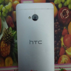 Vand/Schimb HTC ONE m7 - 9.5/10 ~ FULL BOX! - Telefon mobil HTC One, Argintiu, 32GB, Neblocat, Single SIM