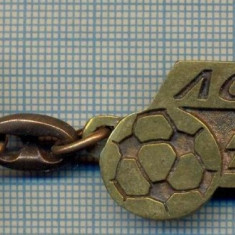 ATAM2001- Breloc 235, pentru colectionari - TEMATICA FOTBAL - FC BRASOV -starea care se vede - Breloc Barbati