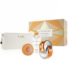 Bvlgari Omnia Indian Garnet Set 65+75+75 pentru femei - Set parfum