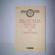 FILOCALIA SFINTELOR NEVOINTE ALE DESAVARSIRII VOL. 4 - Carti ortodoxe, Humanitas