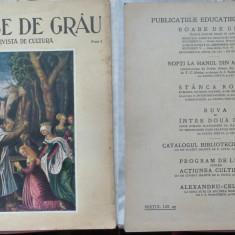 Boabe de grau ; Revista de cultura, August 1934, an 5, Oradea, Ioan Kalinderu - Ziar