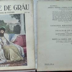 Boabe de grau ; Revista de cultura, Mai, 1933, an 4, I. C. Bratianu, Herastrau - Ziar
