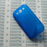 Husa protectie bumper gel TPU seria S-LINE SAMSUNG GALAXY S3 I9300 !, Albastru