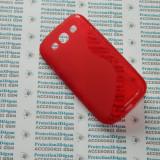Husa protectie bumper gel TPU seria S-LINE SAMSUNG GALAXY S3 I9300 !, Rosu