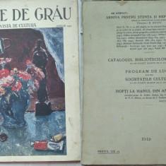 Boabe de grau ; Revista de cultura, Aprilie, 1933, an 4, Liceul Andrei saguna ; Cernauti - Ziar