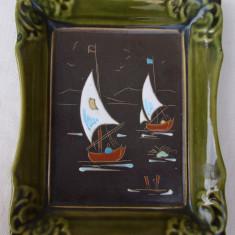 Tablou din ceramica emailata - Arta Ceramica