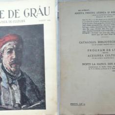 Boabe de grau ; Revista de cultura, August, 1933, an 4, Zambaccian, Stanca Rosie - Ziar