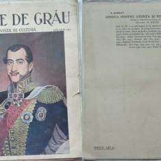 Boabe de grau ; Revista de cultura, Ianuarie, 1933, an 4, Biserica dela Vioresti - Ziar
