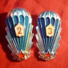 *2 Insigne Parasutisti cl.II si cl III URSS -h= 5 cm - Rare!