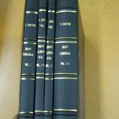 V. Dimitriu Drept comercial 4 volume Bucuresti 1925 - 1926 - Carte Drept comercial