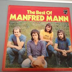 MANFRED MANN - THE BEST OF (1970/ PHILIPS REC/RFG) - DISC VINIL/PICK-UP/VINYL - Muzica Rock universal records