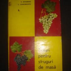 V. DVORNIC * L. GHEORGHIU - SOIURI PENTRU STRUGURI DE MASA