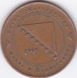 Moneda Bosnia - Hertegovina 50 Feninga 1998 - KM#117 XF, Europa