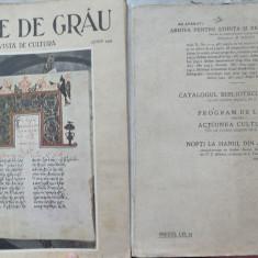 Boabe de grau ; Revista de cultura , Iunie , 1933 , an 4 , Ierusalim , Blaj