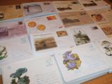Lot 600 intreguri postale NEUZATE, plicuri romanesti cu marca fixa, Romania de la 1950