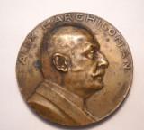 Medalie Alex Marghiloman 1924 Avocat si Prim Ministru al Romaniei
