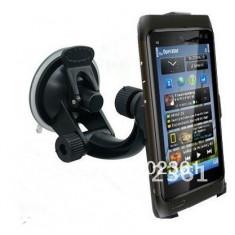 Suport masina Nokia N8 + incarcator auto + folie protectie ecran + expediere gratuita