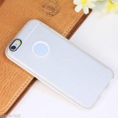 Husa transparenta iPhone 6 6s silicon bumper  - folie protectie display