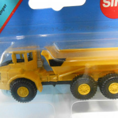 1383.Macheta Camion articulat Dumper - SIKU
