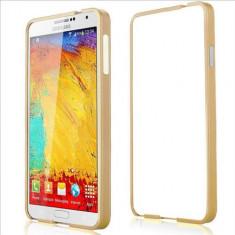 Husa bumper aluminiu Samsung Galaxy Note 3 N9000 + folie ecran